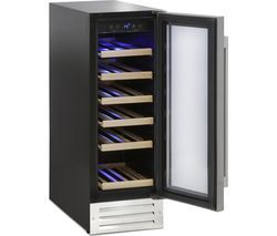 MONTPELLIER WS19SDX Wine Cooler - Stainless Steel Best Price, Cheapest Prices
