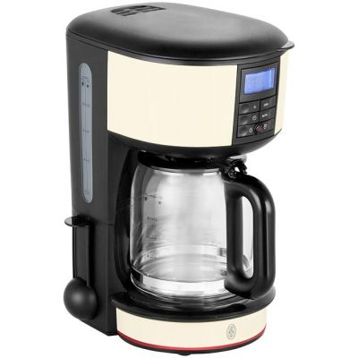 Russell Hobbs Legacy 20683 Filter Coffee Machine with Timer - Cream Best Price, Cheapest Prices