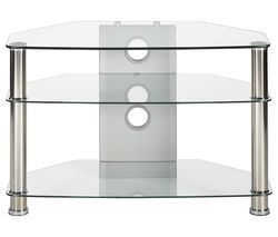 MMT Jet CL-800 TV Stand - Clear Glass Best Price, Cheapest Prices