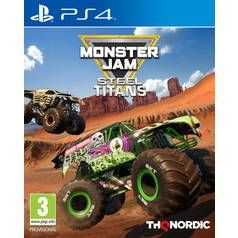 Monster Jam: Steel Titans PS4 Game Best Price, Cheapest Prices