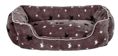 Stars Plush Square Bed - Large Best Price, Cheapest Prices