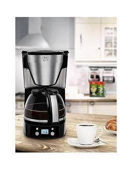 Melitta Easy Top Timer Black Filter Coffee Machine 1010-15 Best Price, Cheapest Prices
