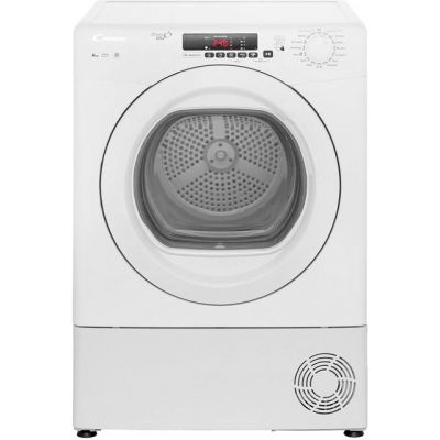 Candy Grand'O Vita GVSC8DG 8Kg Condenser Tumble Dryer - White - B Rated Best Price, Cheapest Prices