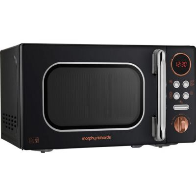 Morphy Richards Evoke 511503 20 Litre Microwave - Black / Rose Gold Best Price, Cheapest Prices