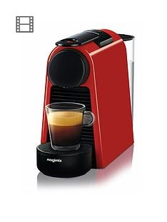 Nespresso Essenza Mini Coffee Machine By Magimix - Ruby Red Best Price, Cheapest Prices