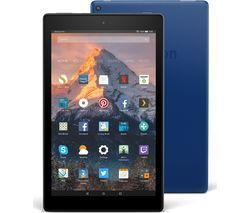 AMAZON Fire HD 10 Tablet with Alexa (2017) - 32 GB, Blue Best Price, Cheapest Prices