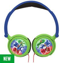PJ Masks Over-Ear Kids Headphones - Green Best Price, Cheapest Prices