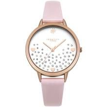 Identity Glitter Heart Dial with Pink Strap Watch Best Price, Cheapest Prices