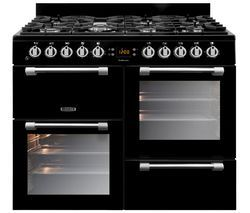 LEISURE Cookmaster 100 Gas Range Cooker - Black Best Price, Cheapest Prices