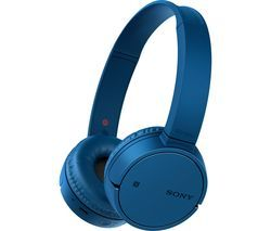 SONY WH-CH500 Wireless Bluetooth Headphones - Blue Best Price, Cheapest Prices