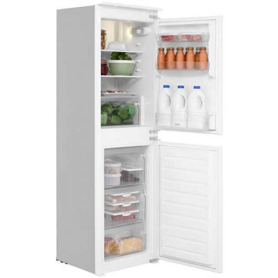 Indesit IB5050A1D Integrated 50/50 Fridge Freezer with Sliding Door Fixing Kit - White - A+ Rated Best Price, Cheapest Prices