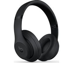 BEATS Studio 3 Wireless Bluetooth Noise-Cancelling Headphones - Black Best Price, Cheapest Prices