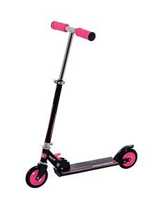 Wired Folding In-Line Scooter – Pink Best Price, Cheapest Prices