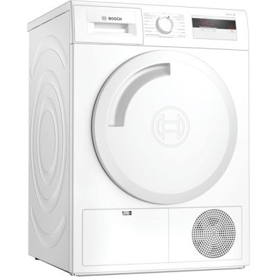 Bosch Serie 4 WTH84000GB 8Kg Heat Pump Tumble Dryer - White - A+ Rated Best Price, Cheapest Prices