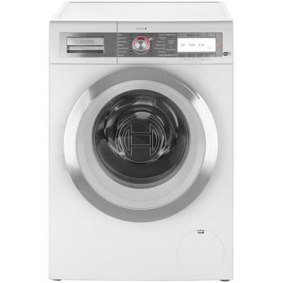 Bosch Serie 8 WAYH8790GB 9Kg Washing Machine with 1400 rpm - White - A+++ Rated Best Price, Cheapest Prices