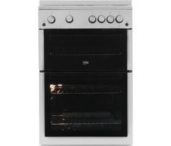 BEKO XTG611S 60 cm Gas Cooker - Silver Best Price, Cheapest Prices
