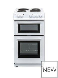 Swan SX15811W 50cm Wide Freestanding Twin Cavity Electric Cooker Best Price, Cheapest Prices
