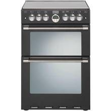 Stoves Sterling 600E 60cm Double Electric Cooker - Black Best Price, Cheapest Prices