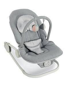 Mamas & Papas Wave Rocking Cradle -Grey Best Price, Cheapest Prices