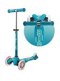 Micro Scooter Mini Micro Deluxe &Ndash; Aqua Best Price, Cheapest Prices
