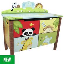 Fantasy Fields Sunny Safari Kids Toy Chest Best Price, Cheapest Prices