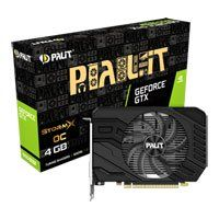 Palit GeForce GTX 1650 SUPER StormX OC 4GB GDDR6 VR Ready Graphics Card, 1280 Core, 1530MHz GPU, 1770MHz Boost Best Price, Cheapest Prices