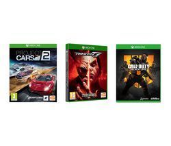 XBOX ONE Call of Duty: Black Ops 4, Tekken 7 & Project Cars 2 Bundle Best Price, Cheapest Prices