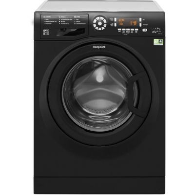 Hotpoint WMAOD844K 8Kg Washing Machine with 1400 rpm - Black - A+++ Rated Best Price, Cheapest Prices
