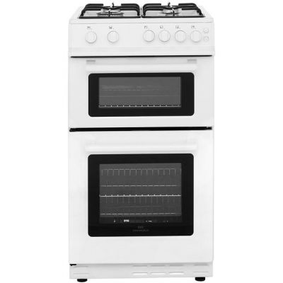 Newworld 50GTC Gas Cooker with Full Width Gas Grill - White - A Rated Best Price, Cheapest Prices
