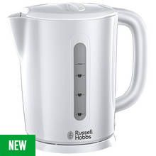 Russell Hobbs 21470 Darwin Kettle - White Best Price, Cheapest Prices