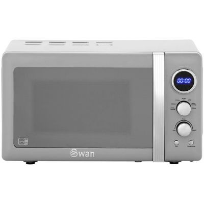 Swan Retro SM22030GRN 20 Litre Microwave - Grey Best Price, Cheapest Prices