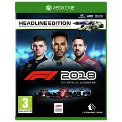 F1 2018 Xbox One Game Best Price, Cheapest Prices
