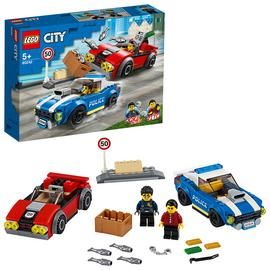LEGO City Police Highway Arrest Cars Toy Set - 60242 Best Price, Cheapest Prices
