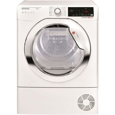 Hoover Dynamic Next DXHY10A1TCE 10Kg Heat Pump Tumble Dryer - White - A+ Rated Best Price, Cheapest Prices