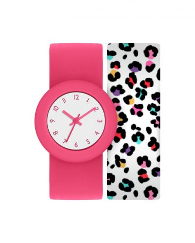 Tikkers Childrens Pink Snap Band Strap Watch Best Price, Cheapest Prices
