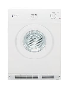 White Knight C44A7W 7kg Load Vented Dryer - White Best Price, Cheapest Prices