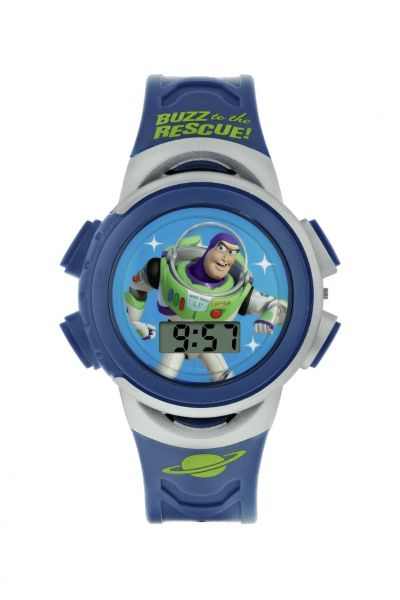 Disney Toy Story Buzz Lightyear Blue Plastic Strap Watch Best Price, Cheapest Prices