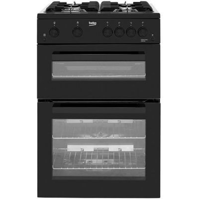 Beko KDG611K Gas Cooker with Full Width Gas Grill - Black - A+/A Rated Best Price, Cheapest Prices