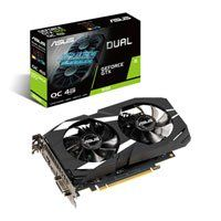 ASUS GeForce GTX 1650 DUAL OC 4GB GDDR5 Graphics Card, 896 Core, 1485MHz GPU, 1725MHz Boost Best Price, Cheapest Prices