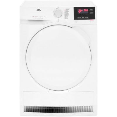 AEG ProSense Technology T6DBG720N 7Kg Condenser Tumble Dryer - White - B Rated Best Price, Cheapest Prices