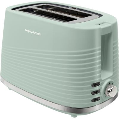 Morphy Richards Dune 220028 2 Slice Toaster - Green Best Price, Cheapest Prices