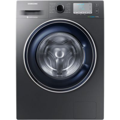 Samsung ecobubble™ WW90J5456FC 9Kg Washing Machine with 1400 rpm - Graphite - A+++ Rated Best Price, Cheapest Prices