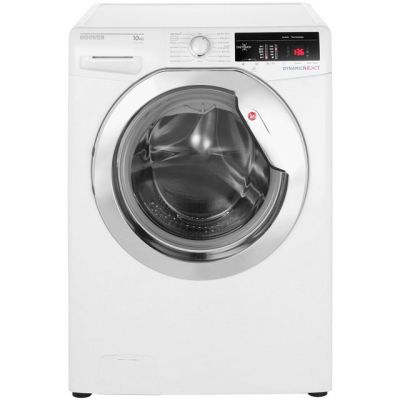 Hoover Dynamic Next DXOA410C3 10Kg Washing Machine with 1400 rpm - White - A+++ Rated Best Price, Cheapest Prices