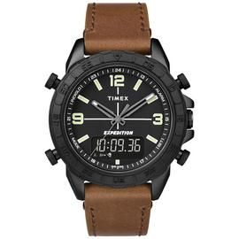 Timex Men's Brown Leather Strap Watch Best Price, Cheapest Prices