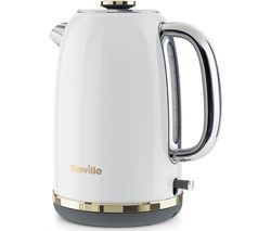 BREVILLE Mostra VKT149 Jug Kettle - White Best Price, Cheapest Prices