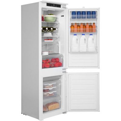 Hotpoint Day1 HM7030ECAA.1 Integrated 70/30 Fridge Freezer with Sliding Door Fixing Kit - White - A+ Rated Best Price, Cheapest Prices