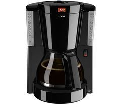 MELITTA Look IV Filter Coffee Machine - Black Best Price, Cheapest Prices