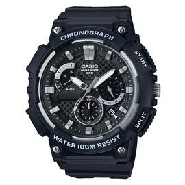 Casio Men's Chronograph Black Resin Strap Watch Best Price, Cheapest Prices