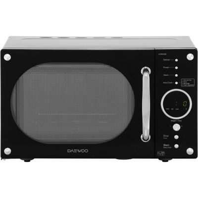 Daewoo KOR8A9RB 23 Litre Microwave - Black Best Price, Cheapest Prices