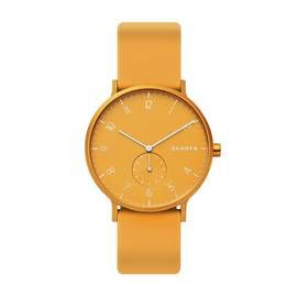 Skagen Kulor Yellow Silicone Strap Watch Best Price, Cheapest Prices